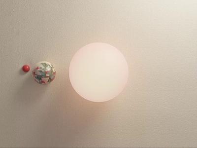 Orbit solar system sun planet orbit space floral cinema 4d blender 3d motion graphics animation design 3d model abstract blender 3d