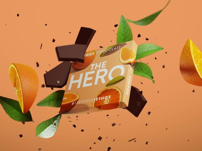 Ethos Chocolate Brand Launch advertising model 3d art packaging branding blender 3d