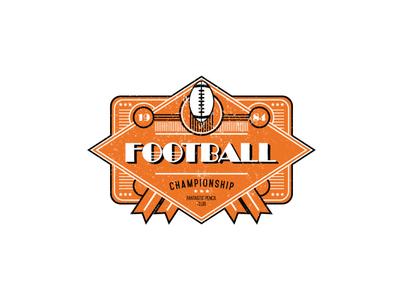 Football club logo concept
