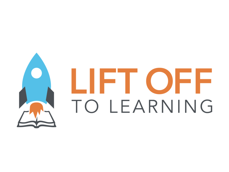 Lift Off branding logo clean