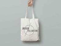 Crossed Pollinations | B/W Logo