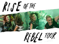 Rise of the Rebel Banner for POUND. Rockout. Workout.