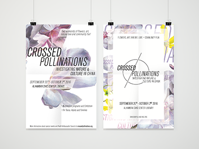 CROSSED POLLINATIONS | Branded Posters