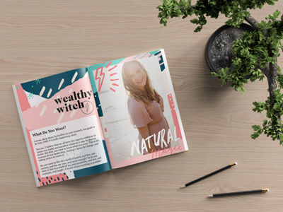 Wealthy Witch | Branded Publication