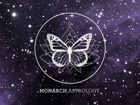 LOGO: Monarch Astrology