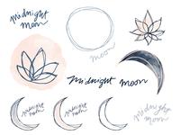 Midnight Moon | explorations, elements, objects, etc.