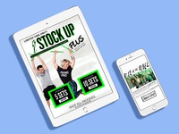 Emails + Landing Pages for POUND. Rockout. Workout.