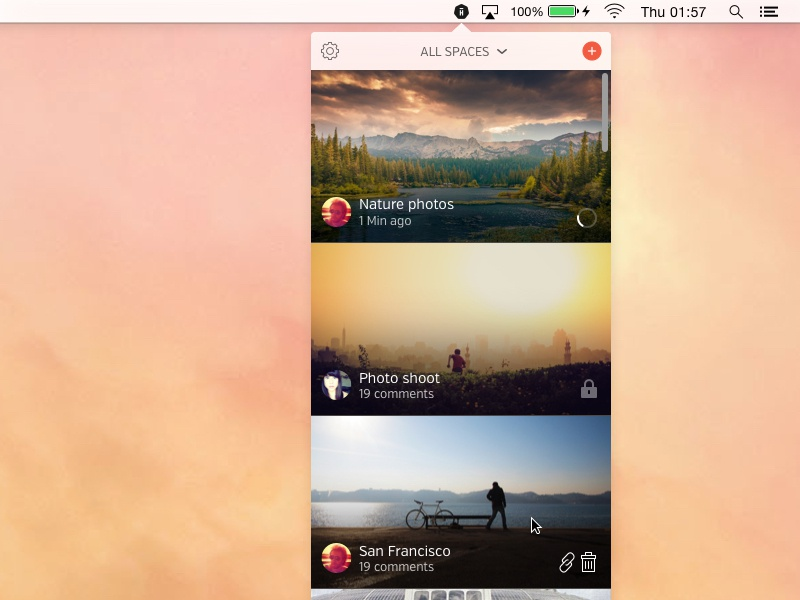 Mac Desktop App for Hightail Spaces by Bill Wetherell for