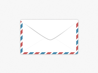 Envelope envelope postage sketch illustration