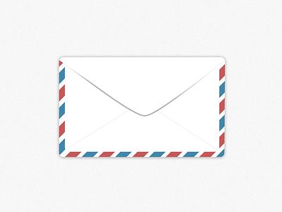 Envelope envelope postage sketch illustration
