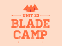 Unit 23 Blade Camp Logo