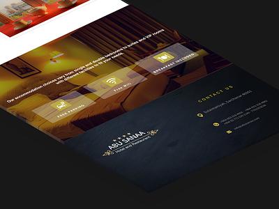 Anu Sanaa Hotel webdesign ux hotel ui