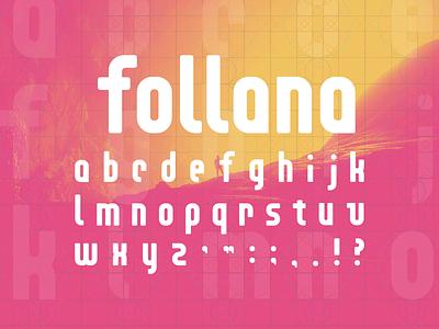 Follana Font typography font