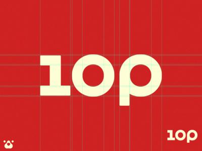 One operation Web service Logo typography logo
