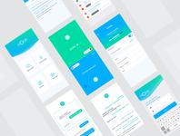 Nolbi voice assistant translator voice language translation mobile app appdesign app ui ux ios