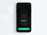 Facial Recognition App Concept