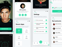 Freebie: Facial Recognition App Concept