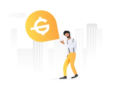 Illustration for Cryptocurrency App