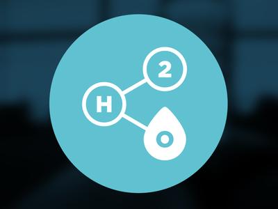 Branding H2O Sharing Logo