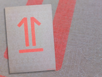 Direct Mailing: jwtwel on the move. graphic 1 picto design jwtwel muskat grey moved icon pattern risograph riso mailing