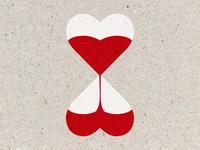 Heartglass illustration