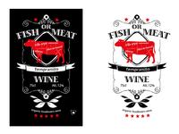 Design hand-drawn wine labels