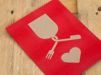 Design invitation celebrate love
