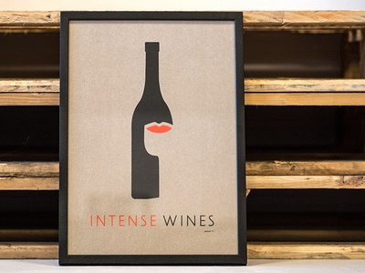 IntenseWines Risoposter A3