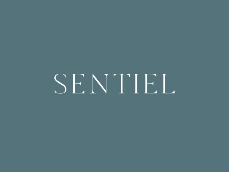 Sentiel Logo fonts serif logotype lettering typography minimal lifestyle fashion brand identity branding logo design logo