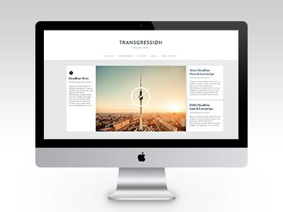 Transgression Web Design