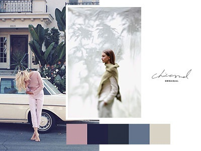Colour Palette / Chicasual Womenwear