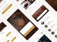 Independent Cafe Co. App Design