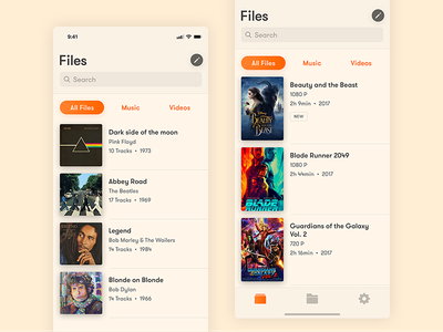 Vlc @ iPhone X - Files files mobile movies music apple sketch psd iphone x ios player media vlc