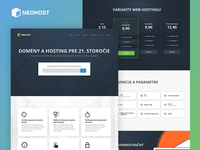 NEOHOST Webhosting, Web Site - final