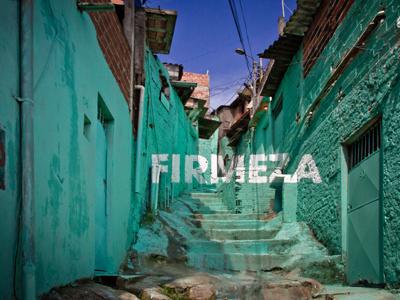 FIRMEZA strenght anamorphosis floating word typeface participative crossroads project brasilandia favela sao paulo brasil colourful mural painting urban intervention mural painting urban art art