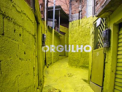 Brasilandia Orgulho prowd anamorphosis floating word typeface participative crossroads project brasilandia favela sao paulo brasil colourful mural painting urban intervention mural painting urban art art