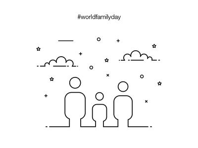 World Family Day Illustration