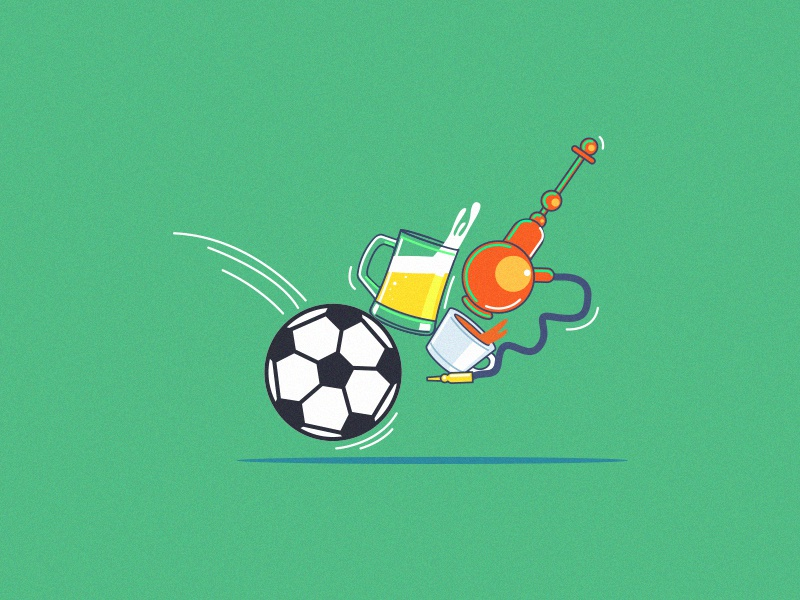 Animated Explanation for Yowzapp game animated explanation sports illustration video explainer video animation 2d animation