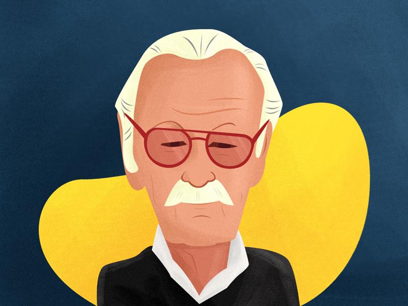 RIP Stan Lee comics marvel illustration rip stan lee