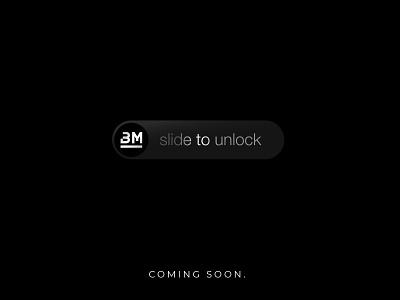 Coming Soon Poster brandmills bm ipad iphone mac unlock slide product launching comingsoon