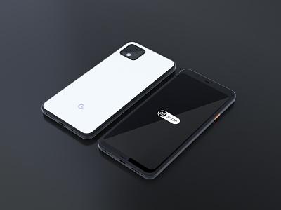 Google Pixel 4 XL | Free Mockup 2020 mockup 3d mockup device mockup free mockup freebies pixel mockup pixel 4 xl mockups mockup free brandmills bmshop