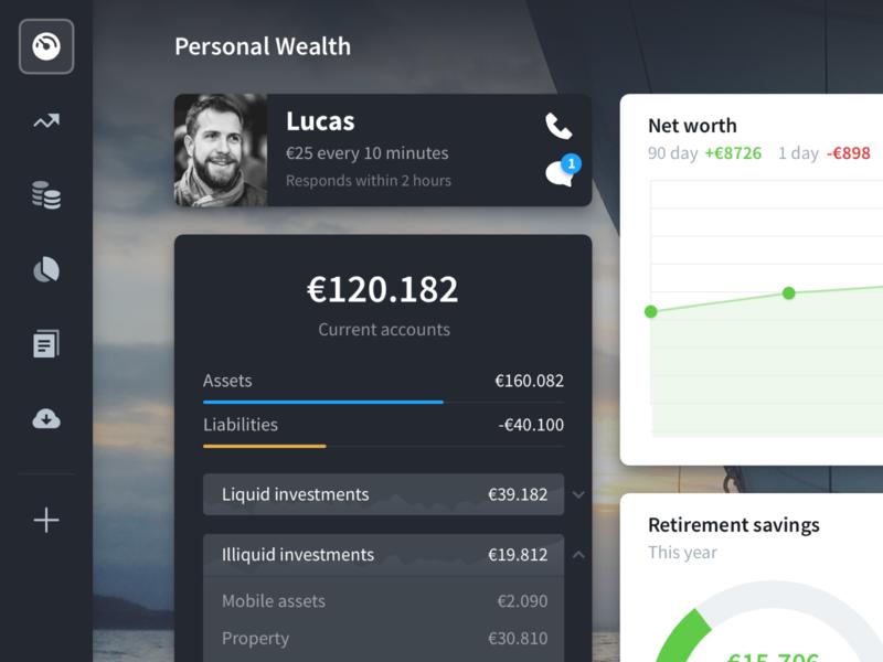 Lucas dark widgets ui pack dashboard money webapp