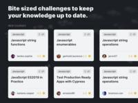 Bite sized challenge code webapp design ui