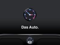 Clock for car theme