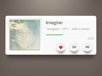 Music Widget 2