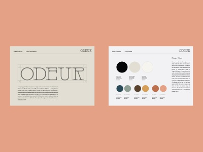Branding & Packaging design for Odeur Candles 🕯 label typography home candle packaging design logotype logo packaging branding