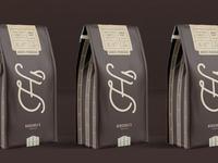 Herschel's Coffee Co. Packaging