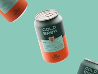 Cold Brew Packaging Design for The Supreme