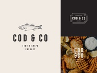 Branding for Cod & Co Fish and Chips