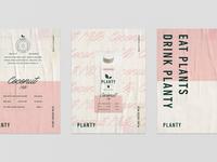 Poster design for Planty